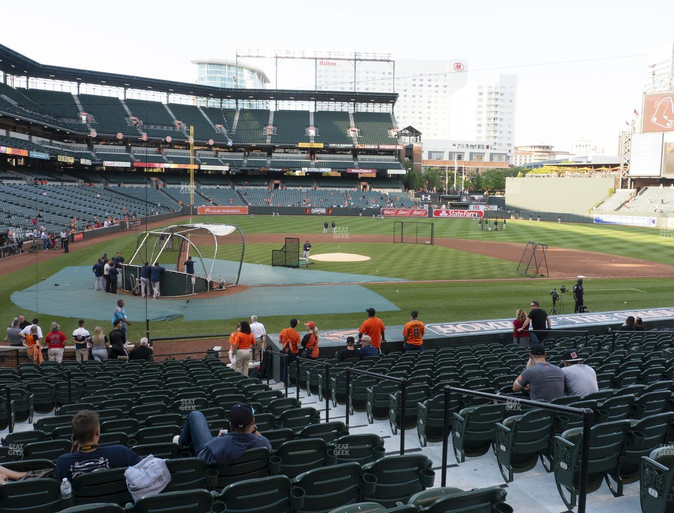 Baltimore Orioles at Oriole Park at Camden Yards Section 28 View