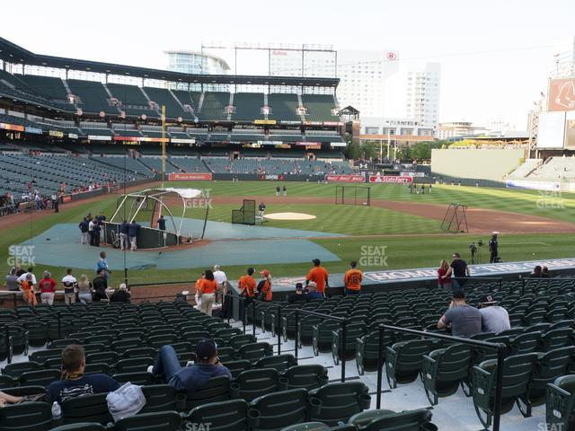 Oriole Park at Camden Yards Section 28 view