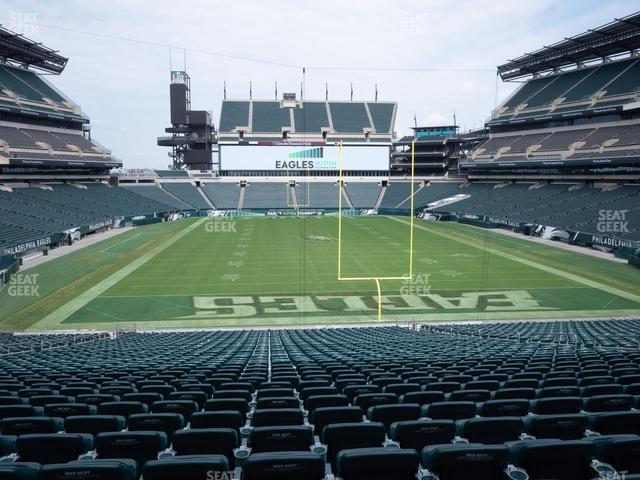 Lincoln Financial Field Section 109 view