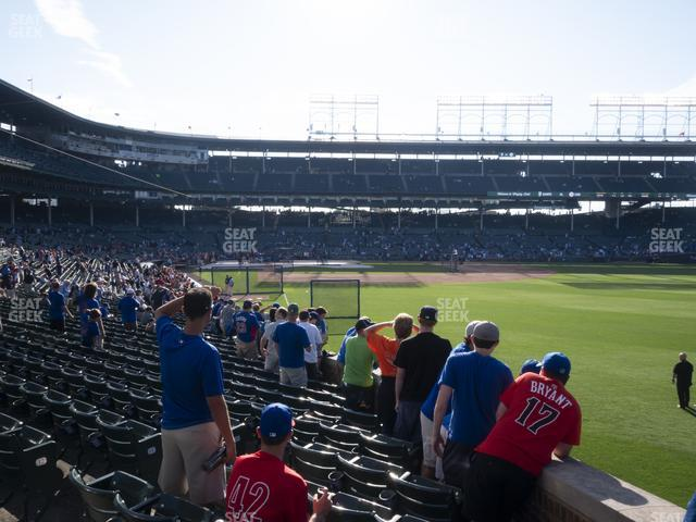 Wrigley Field Section 134 view