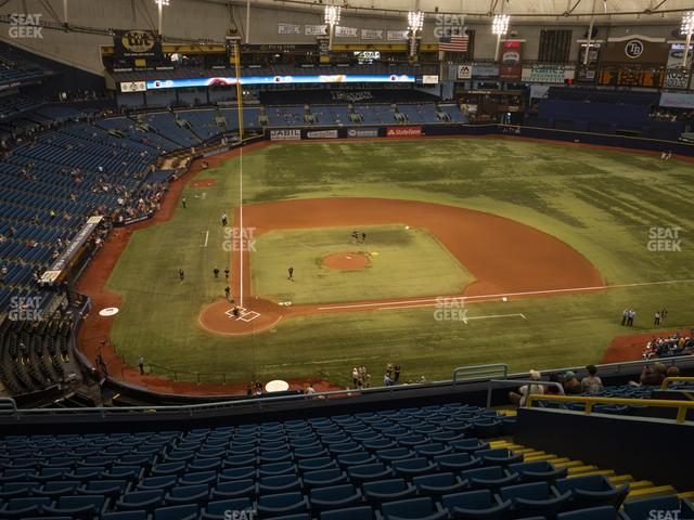 Tropicana Field Section 308 view