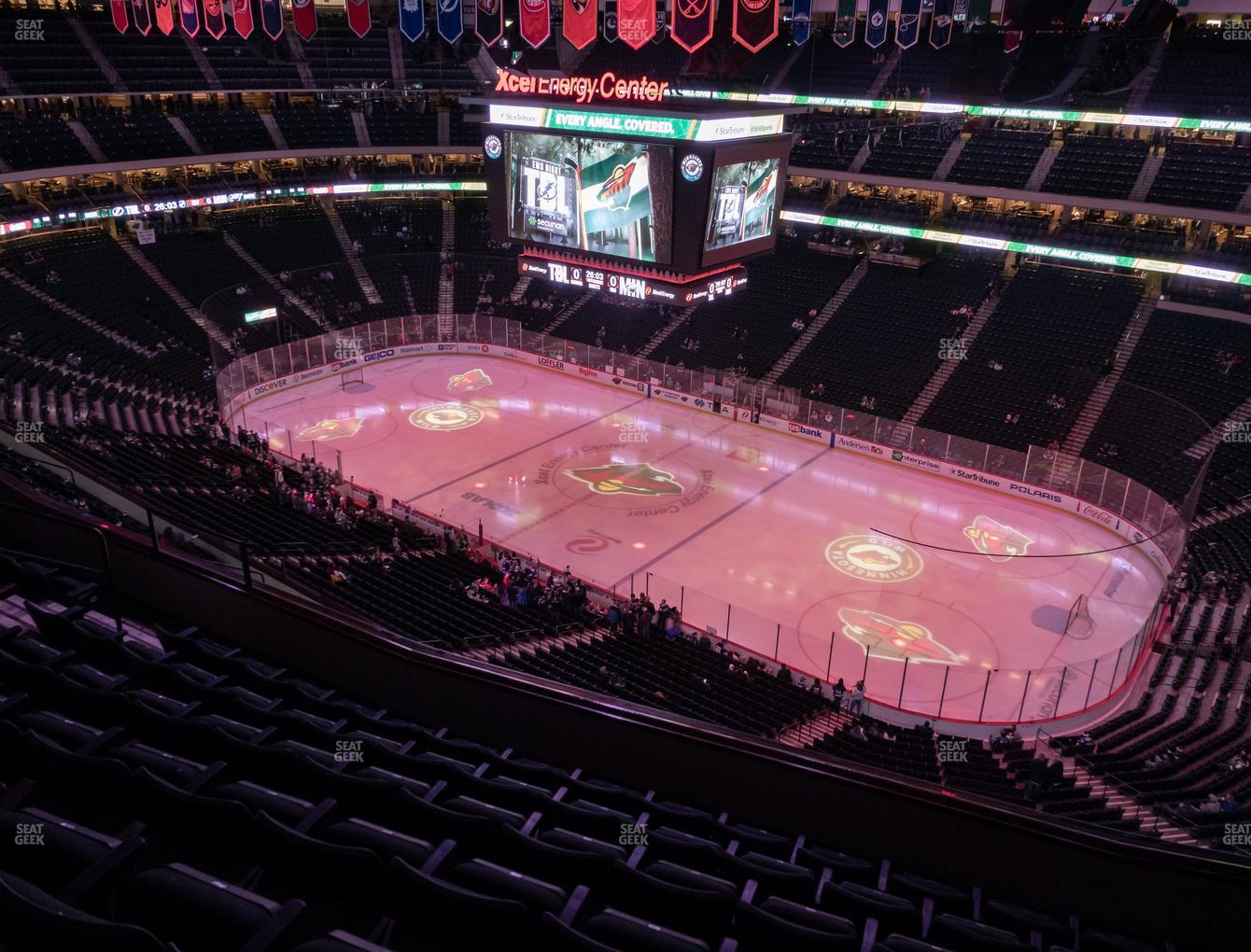 Minnesota Wild at Xcel Energy Center Section 216 View
