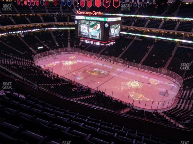 Xcel Energy Center Section 216 view