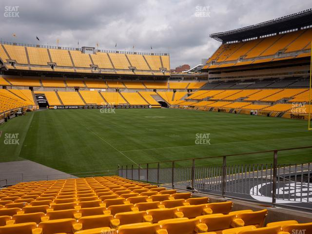 Heinz Field Section 144 view