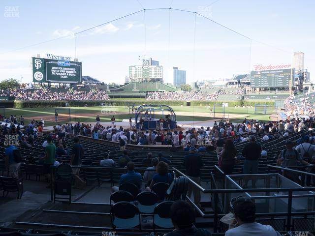 Wrigley Field Section 118 view