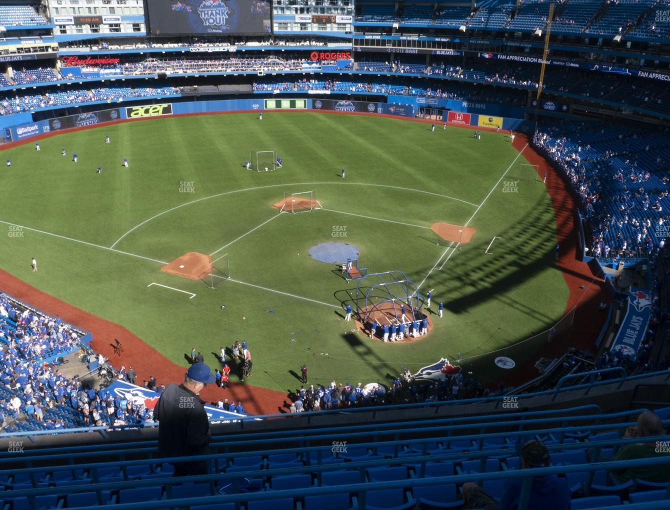 Toronto Blue Jays at Rogers Centre Section 526 L View