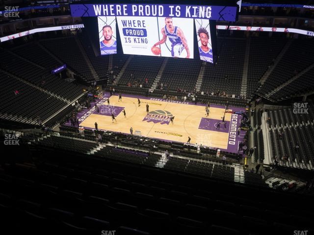 Golden 1 Center Section 204 view