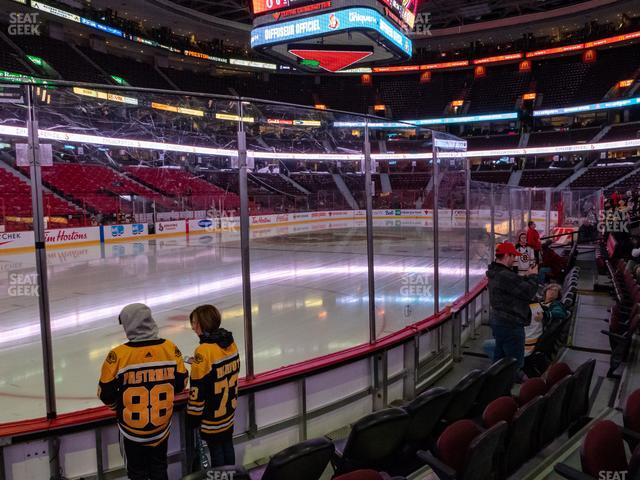 Canadian Tire Centre Section 110 view