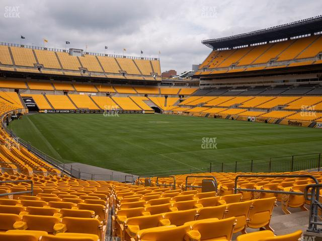 Heinz Field Section 143 view