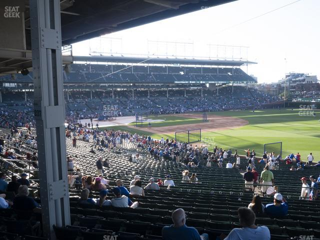 Wrigley Field Section 230 view