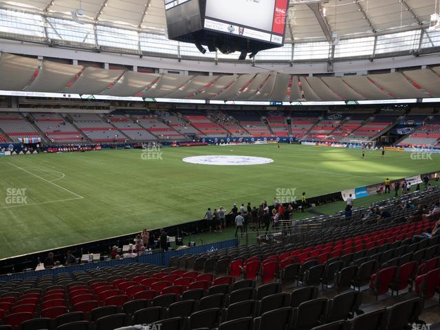 BC Place Stadium Section 246 view