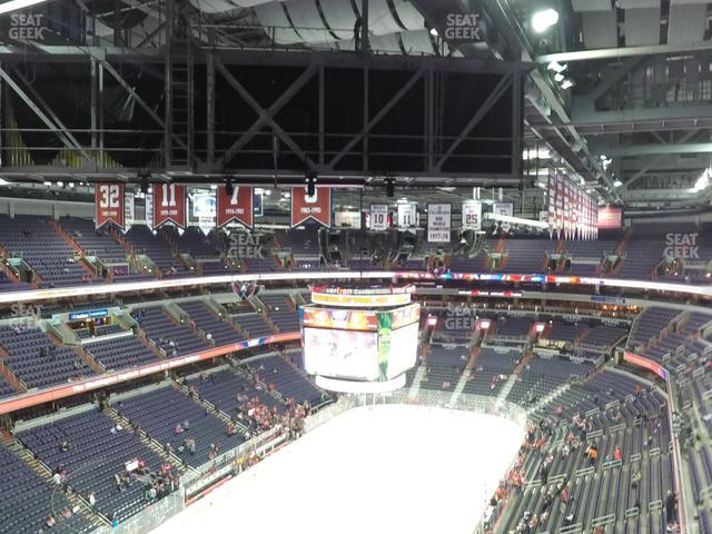Capital One Arena Section 411 view