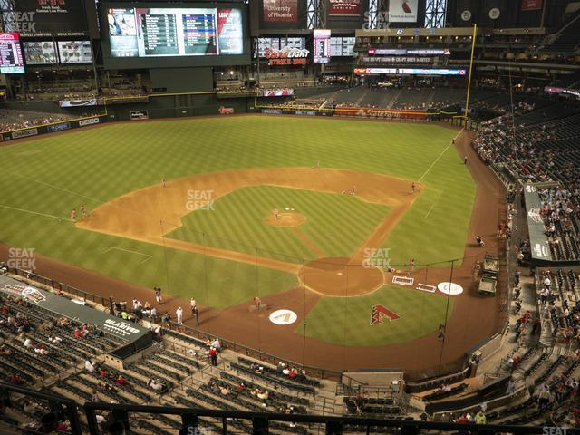 Chase Field Section 319 view