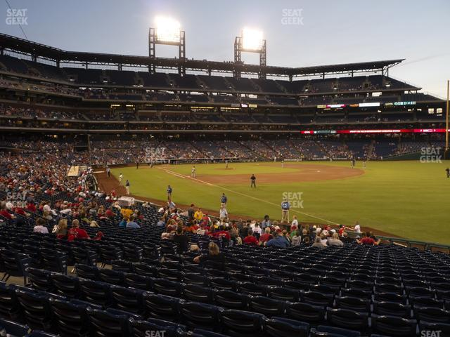 Citizens Bank Park Section 109 view