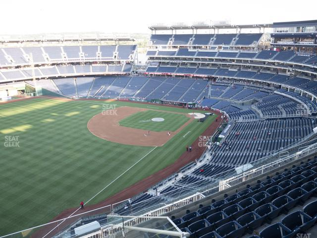 Nationals Park Section 401 view