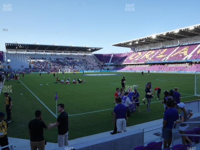Exploria Stadium Section 7 view