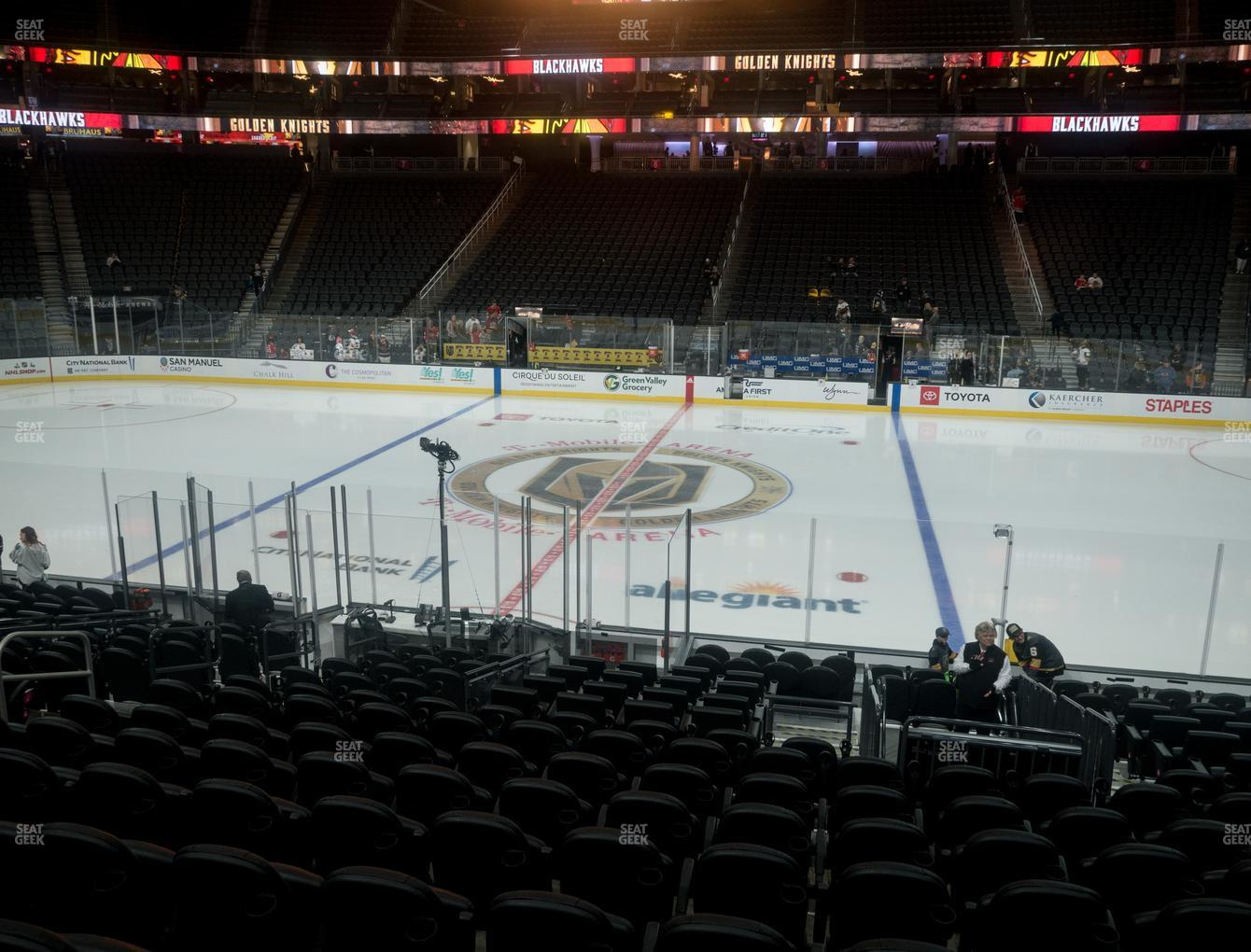 T Mobile Arena Section 16 Seat Views Seatgeek