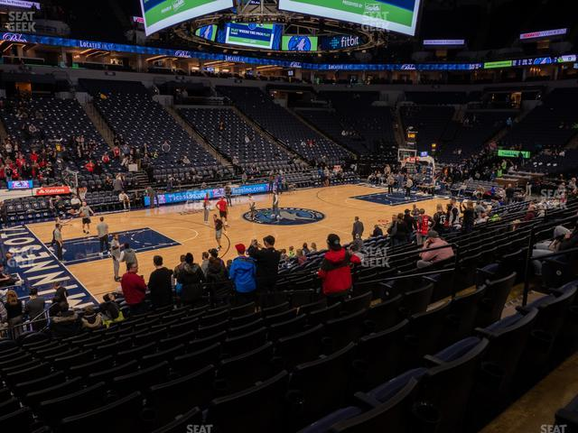 Target Center Section 113 view