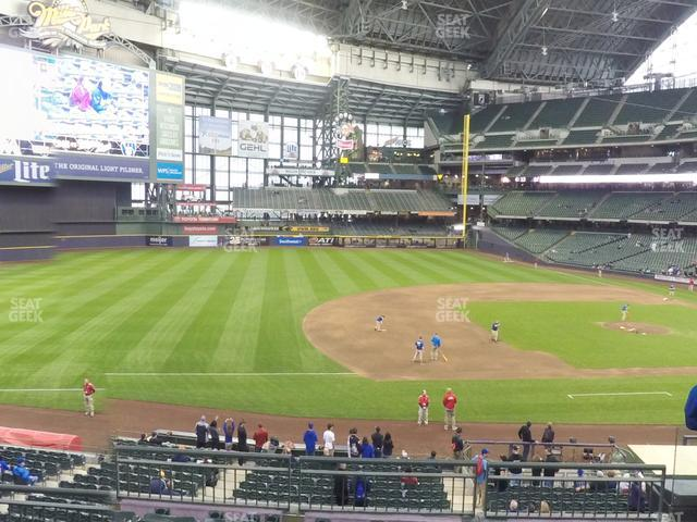 Miller Park Section 226 view