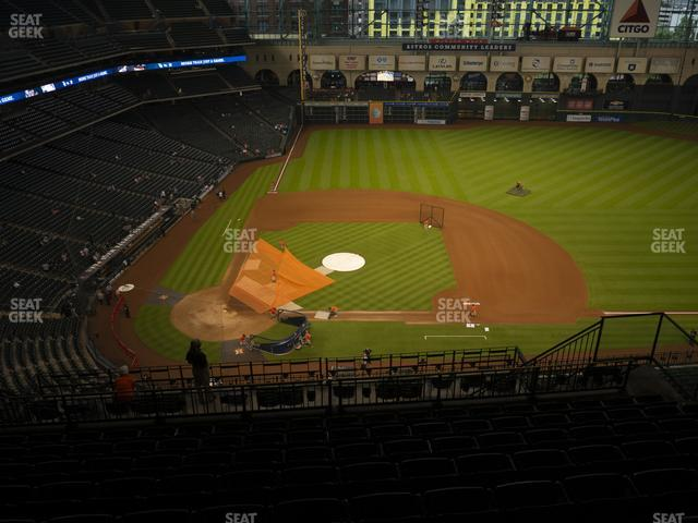 Minute Maid Park Section 424 view