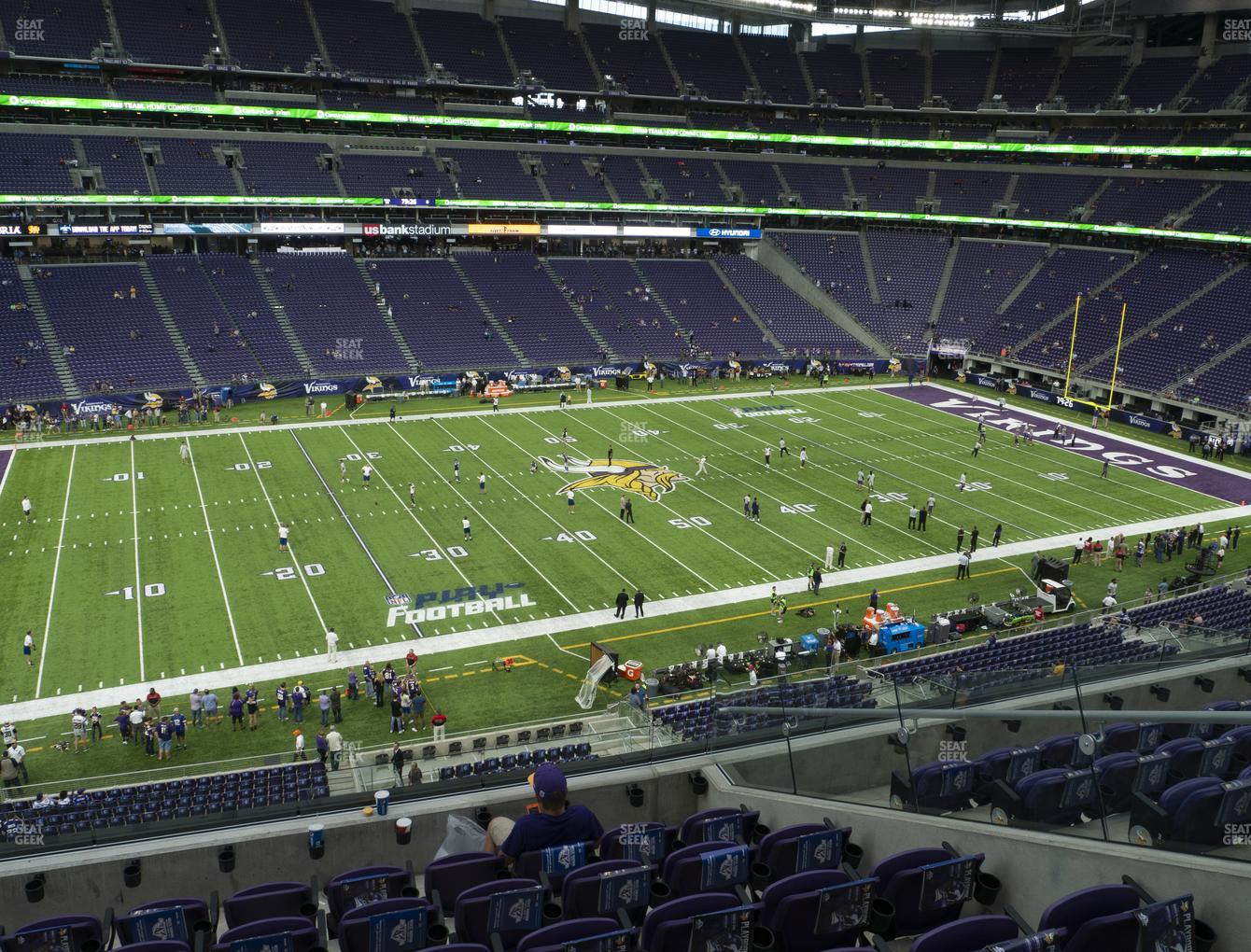 Minnesota Vikings at U.S. Bank Stadium Section 237 View