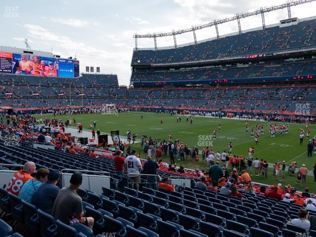 Empower Field at Mile High Section 119 view