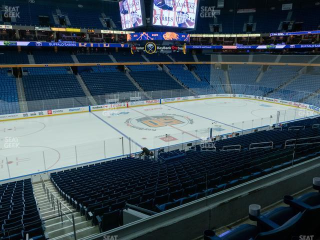 KeyBank Center Section 209 view