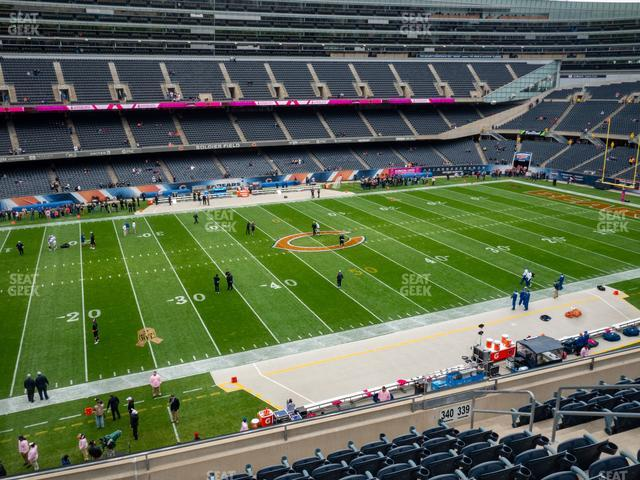 Soldier Field Section 340 view