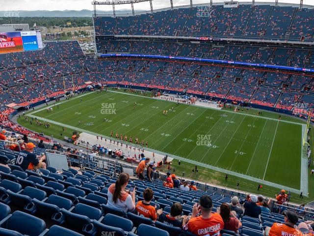 Empower Field at Mile High Section 530 view