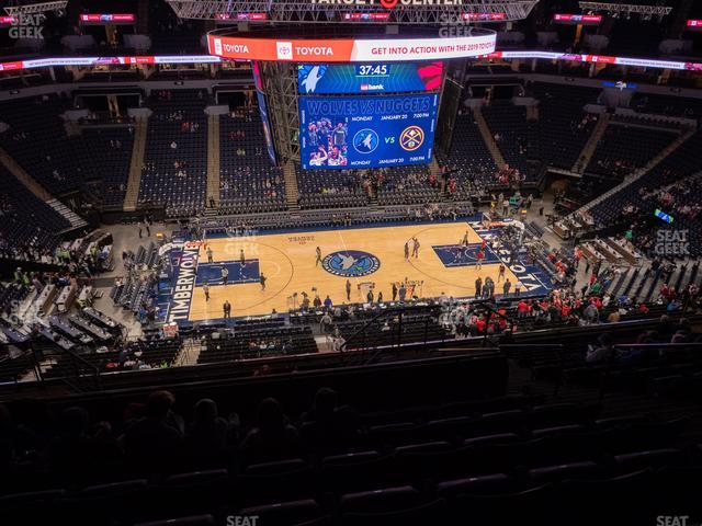 Target Center Section 232 view