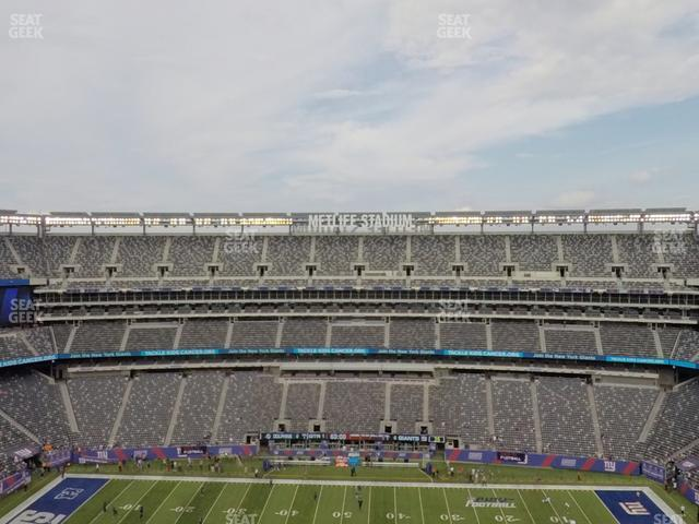 MetLife Stadium Section 338 view