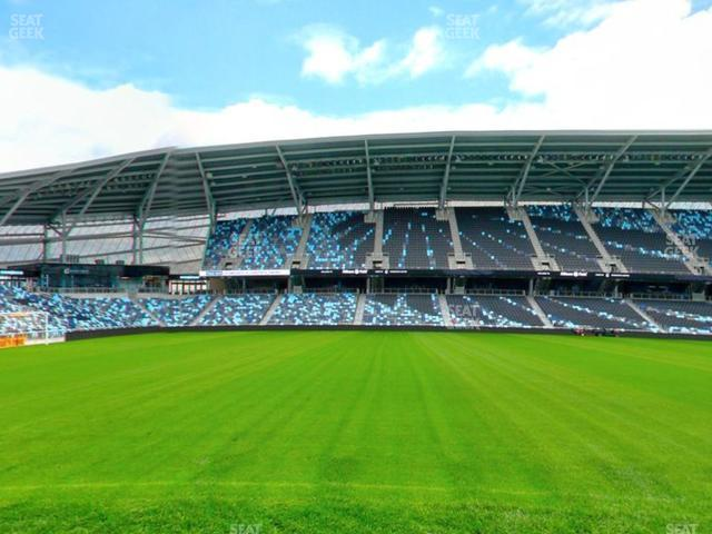 Allianz Field Field Club 9 view