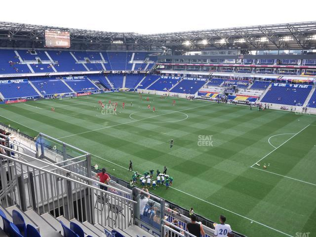 Red Bull Arena Section 223 view