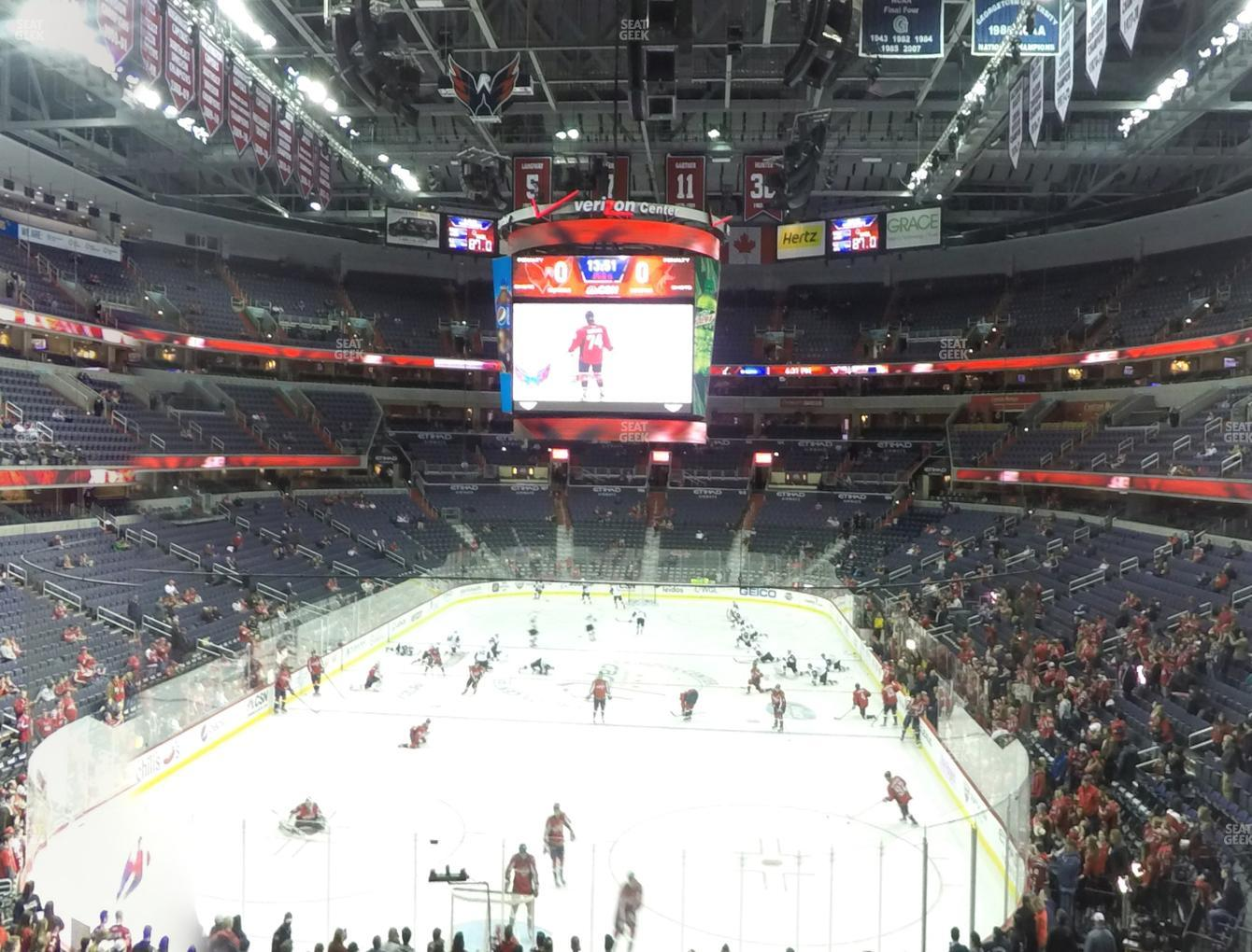 Washington Capitals at Capital One Arena Section 223 View
