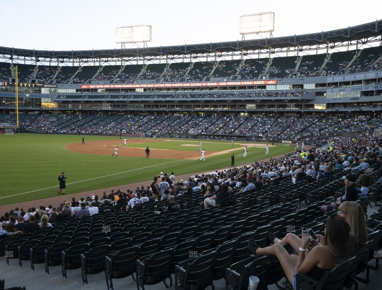 Chicago White Sox at Guaranteed Rate Field Section 150 View