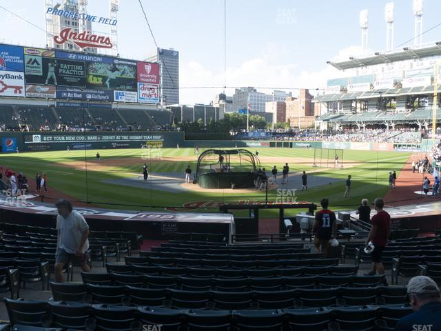 Progressive Field Section 154 view