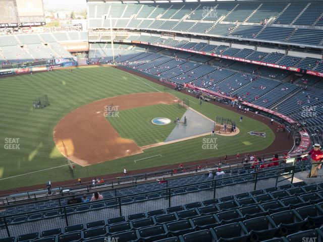 Angel Stadium of Anaheim Section 512 view