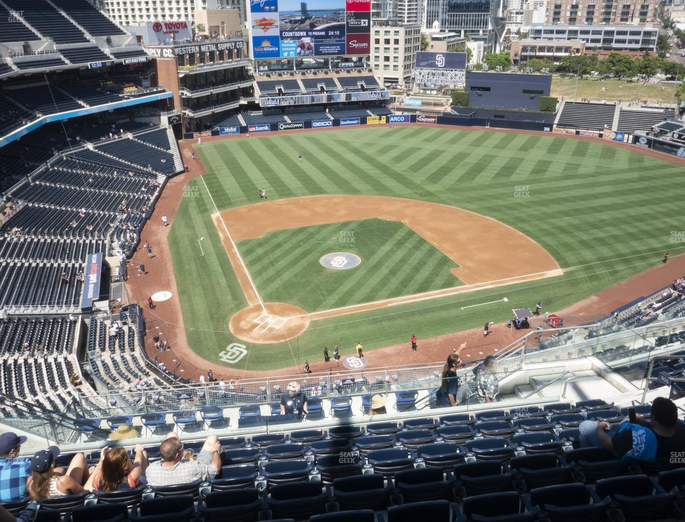 San Diego Padres at Petco Park Section 305 View