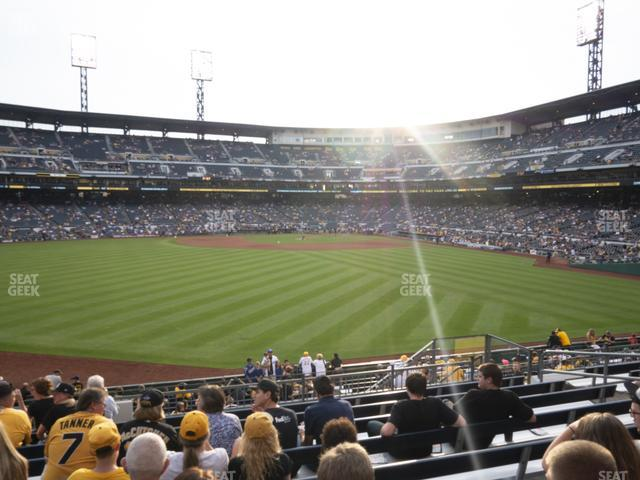 PNC Park Section 136 view