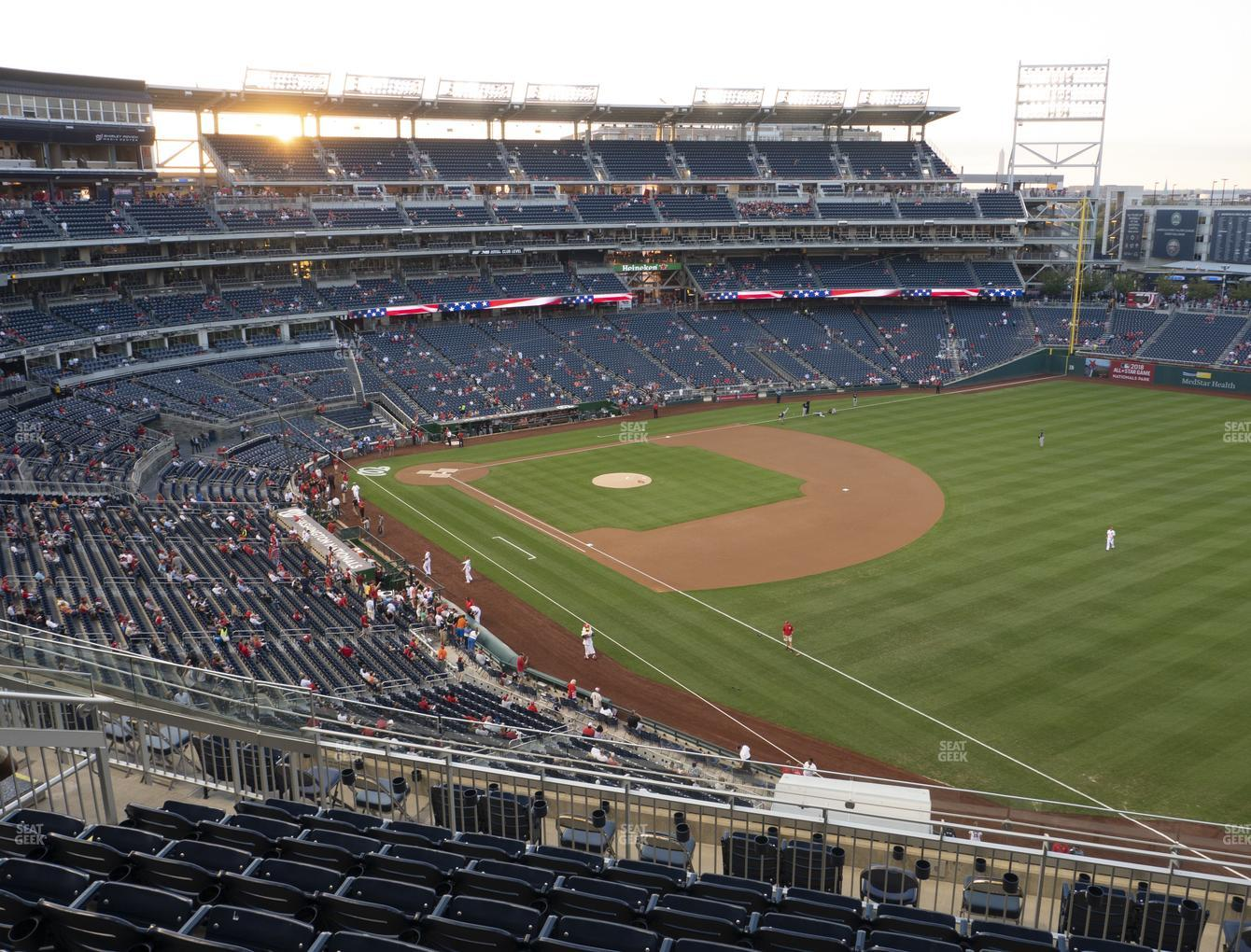 Washington Nationals at Nationals Park Section 226 View