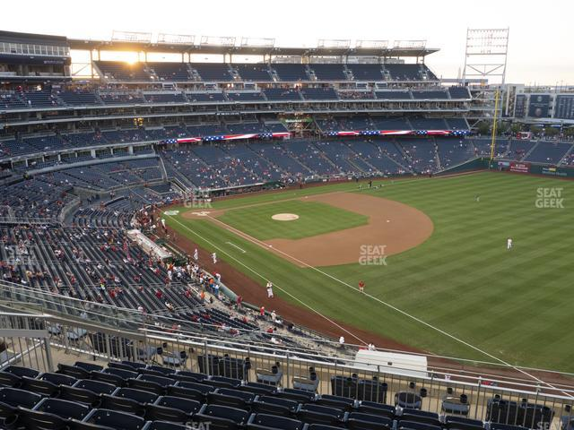 Nationals Park Section 226 view