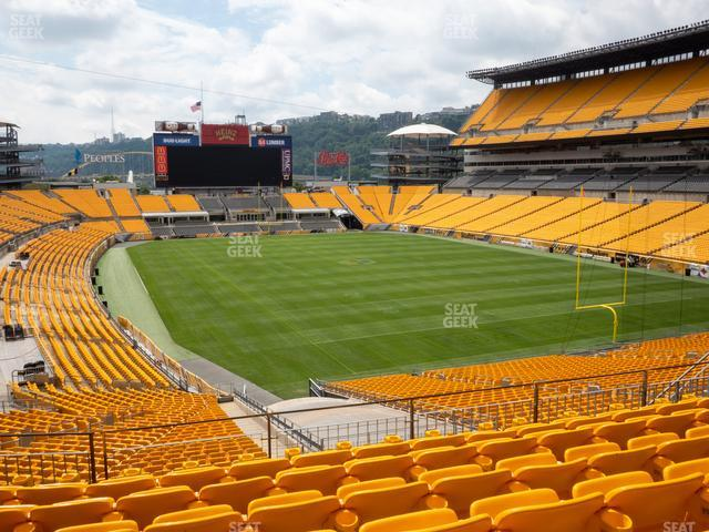 Heinz Field Section 219 view
