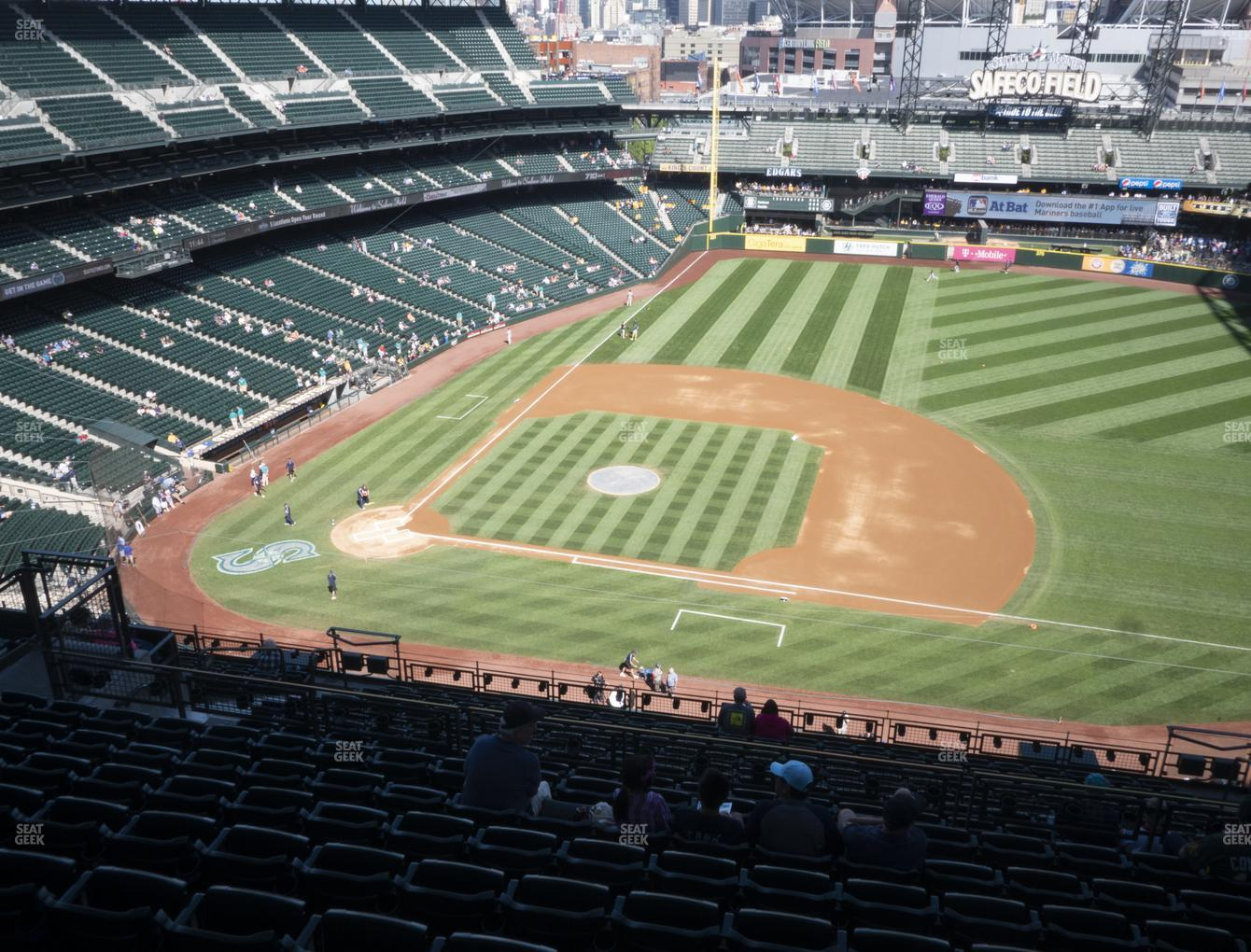 Seattle Mariners at T-Mobile Park Section 321 View