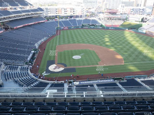 Nationals Park Section 417 view
