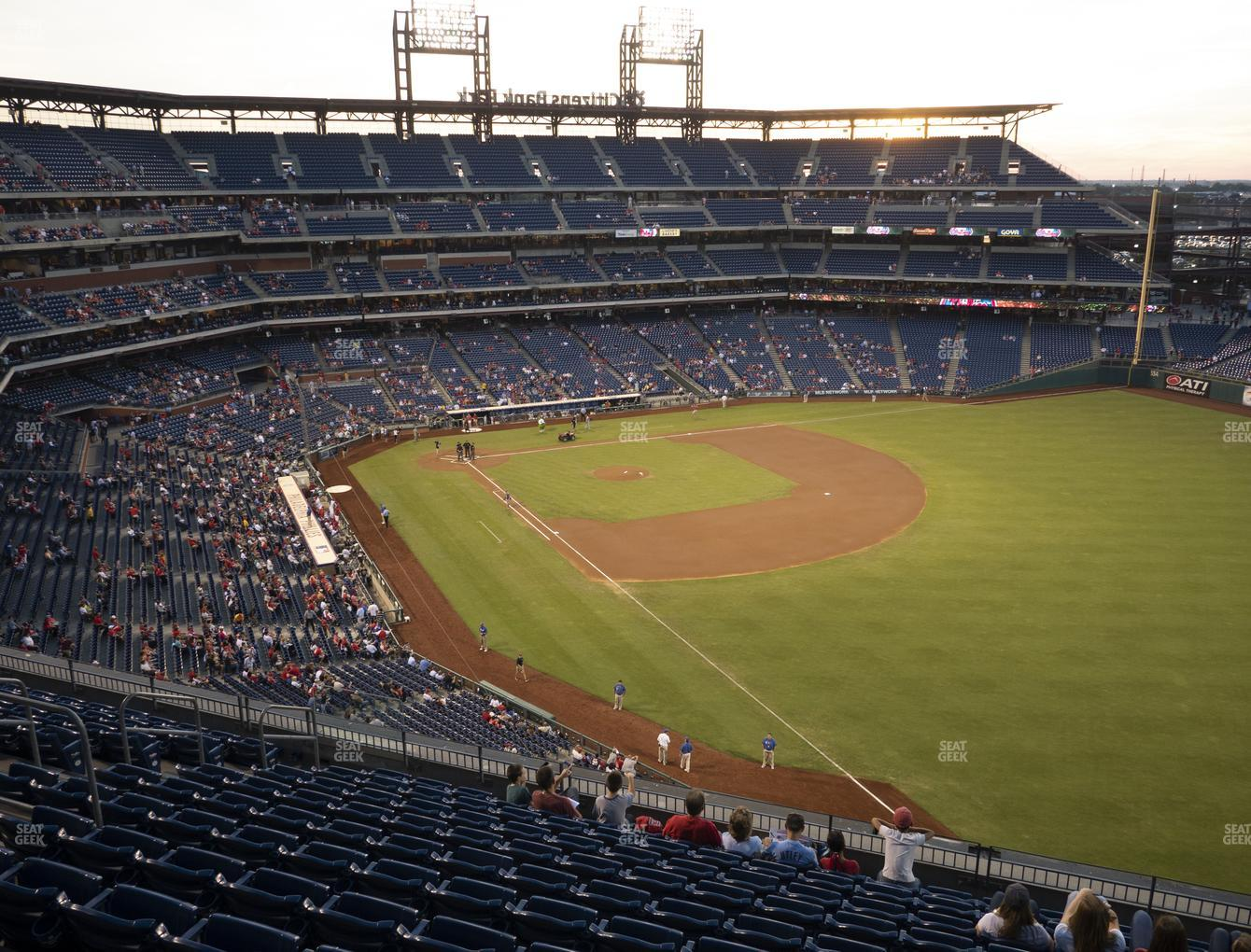 Philadelphia Phillies at Citizens Bank Park Section 308 View