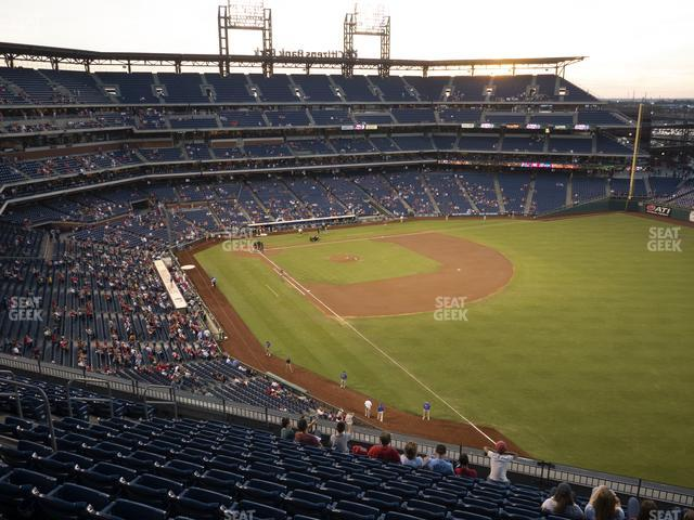 Citizens Bank Park Section 308 view