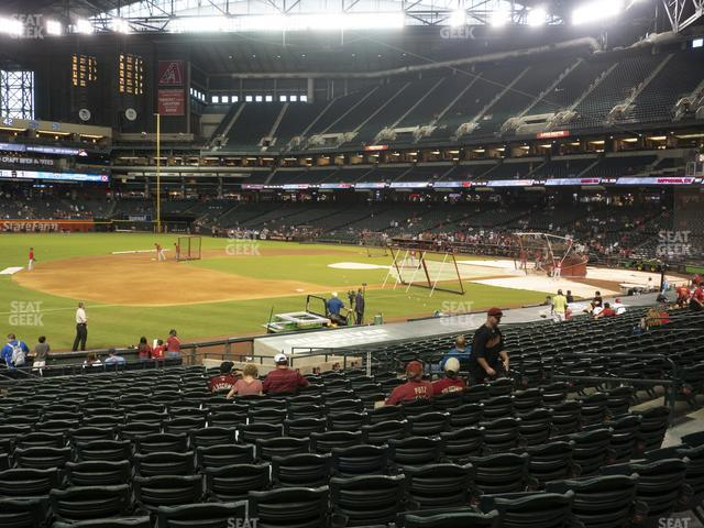Chase Field Section 130 view