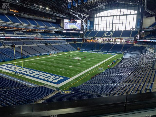 Lucas Oil Stadium Section 322 view