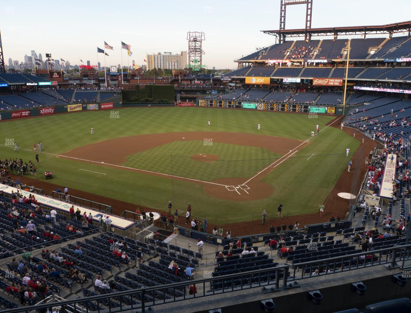 Philadelphia Phillies at Citizens Bank Park Section 224 View