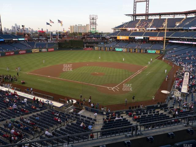 Citizens Bank Park Section 224 view